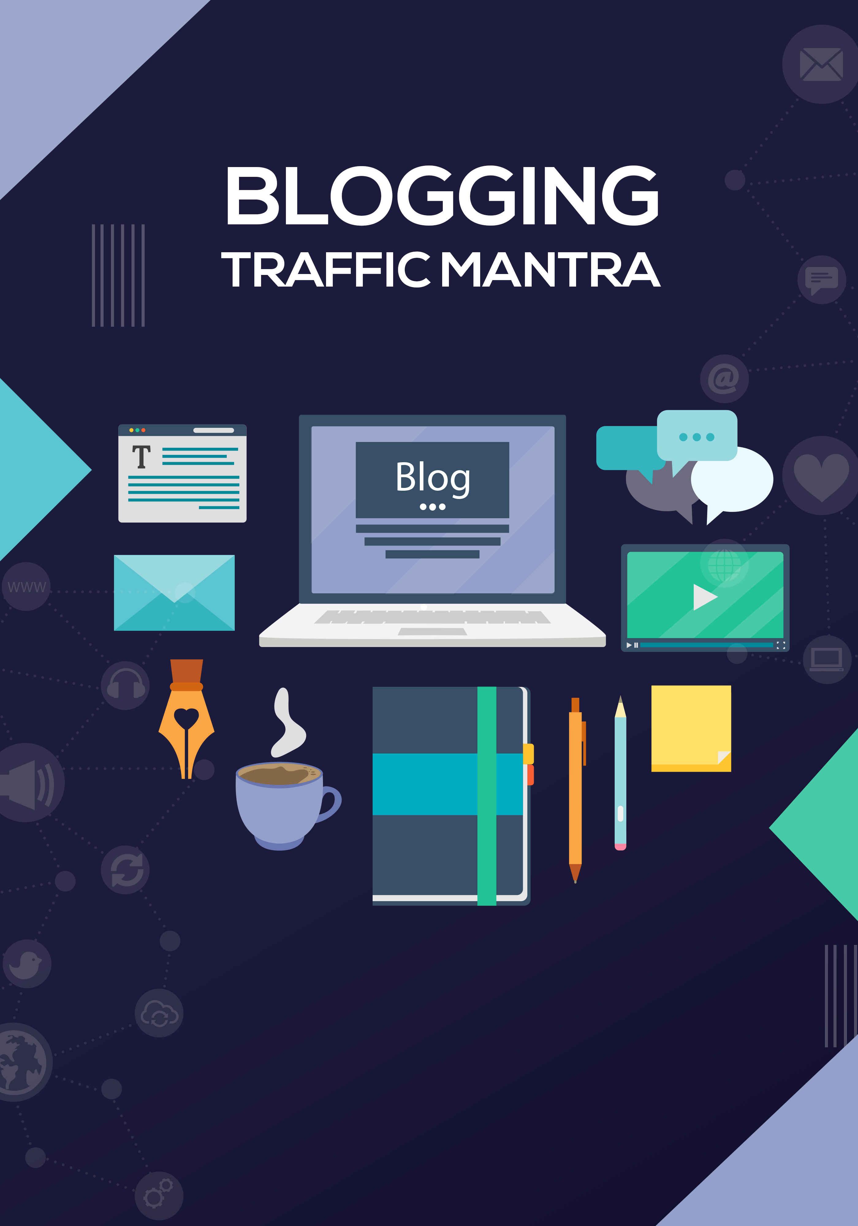 Blogging Traffic Mantra Ebook's Ebook Image