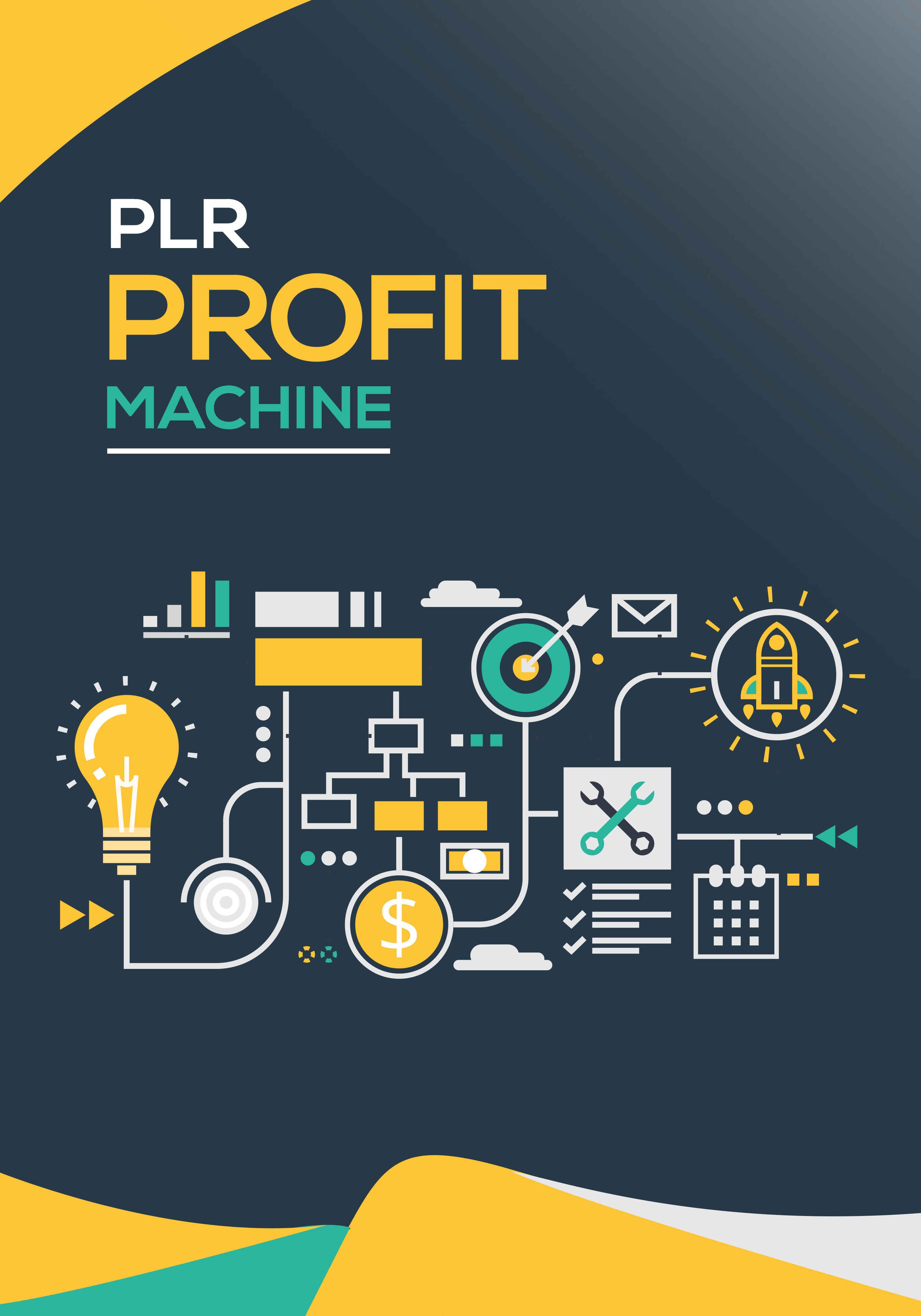 PLR Profit Machine Ebook's Ebook Image