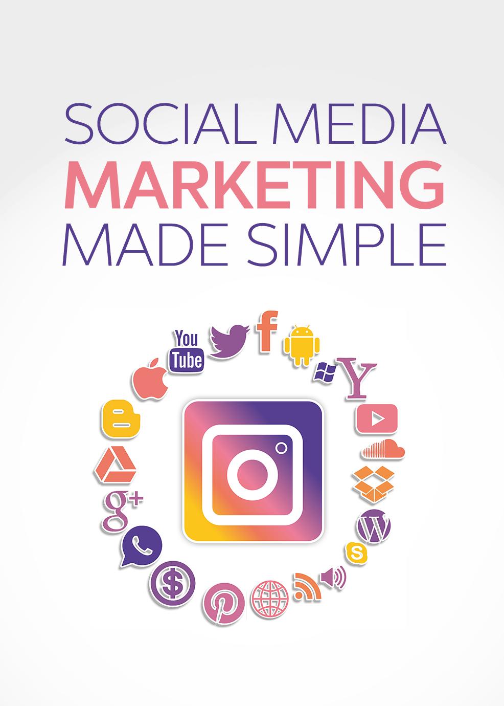 Social Media Marketing Made Simple's Book Image