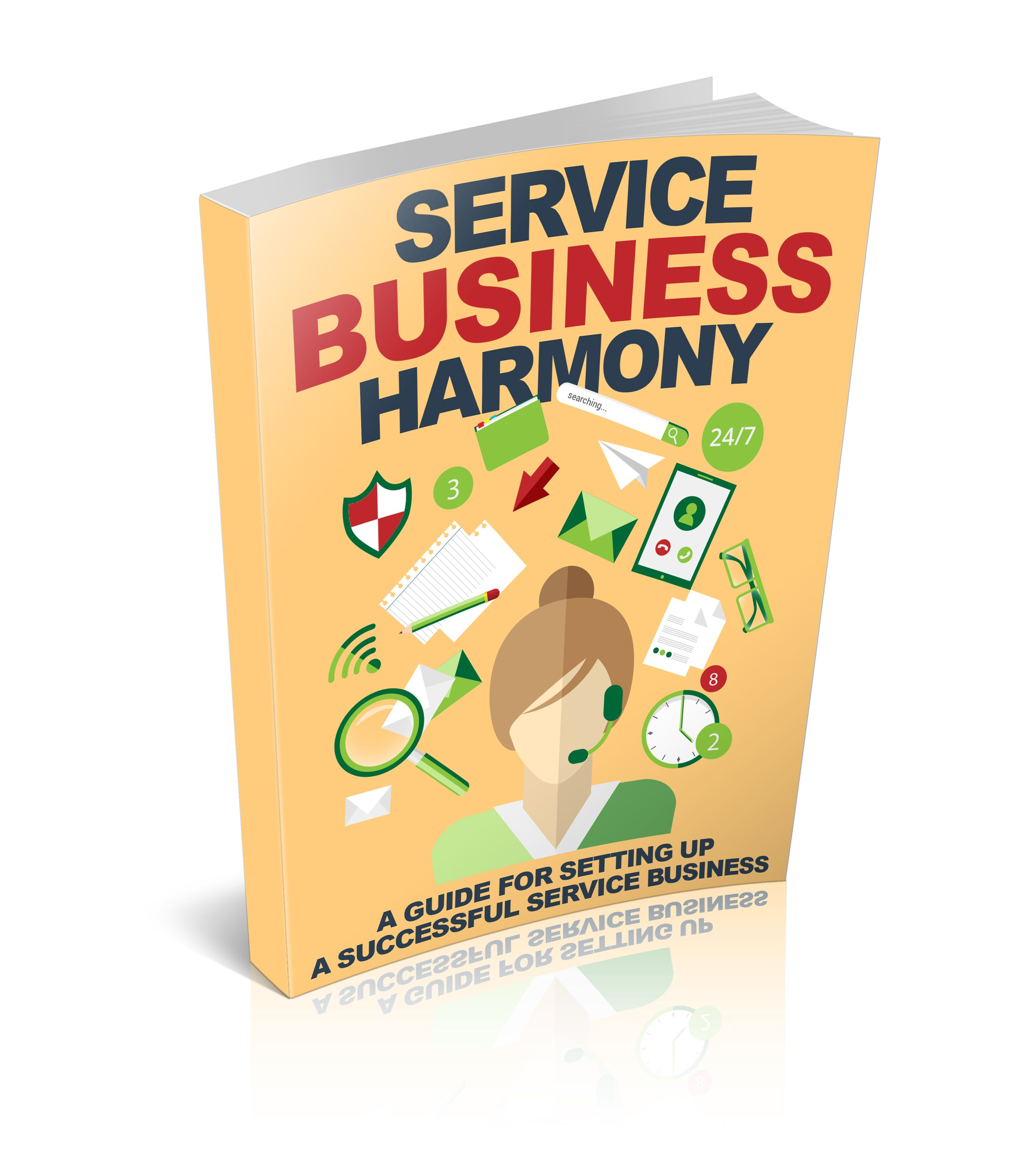 Service Business Harmony's Book Image