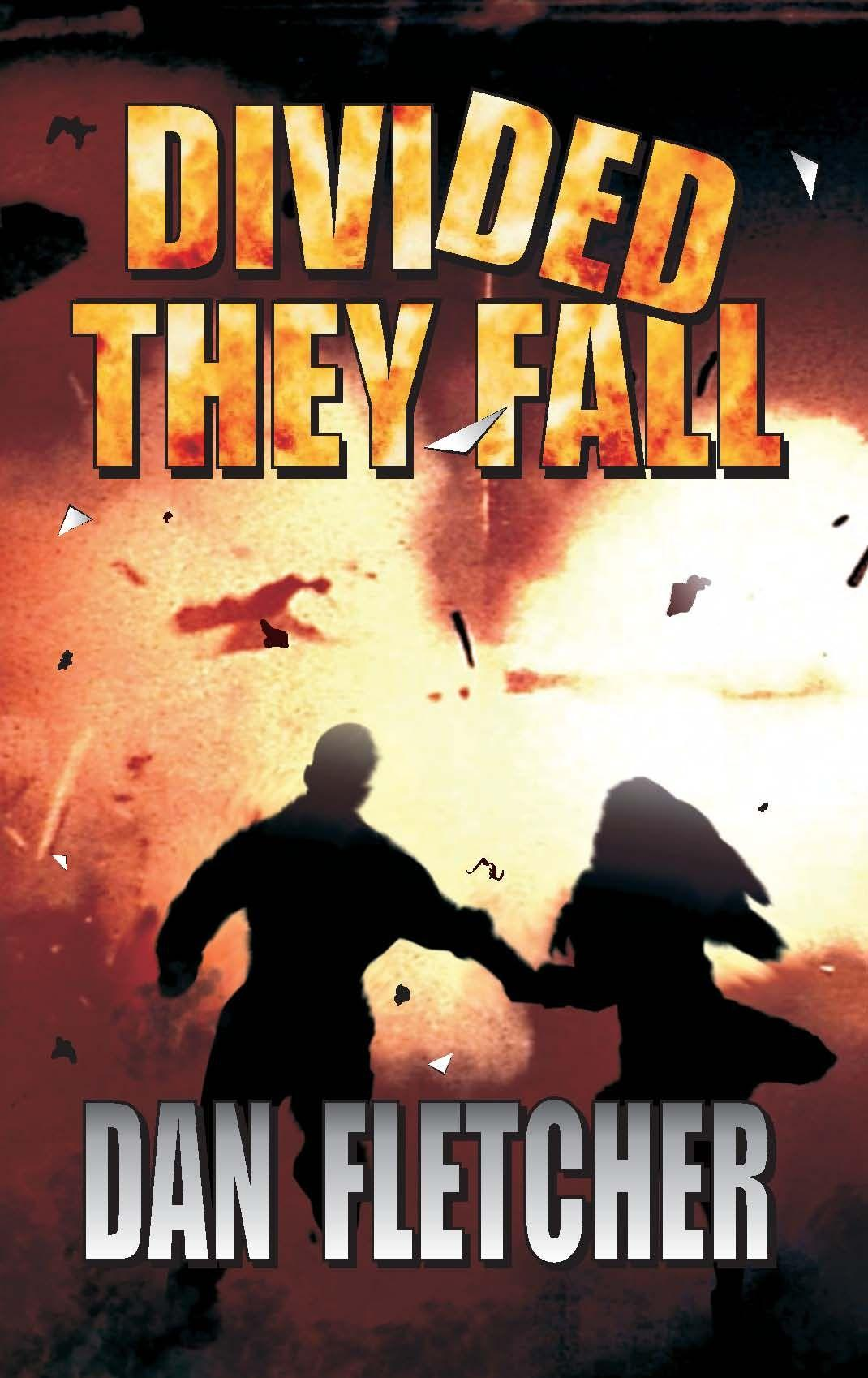 Divided They Fall: Part II in The David Nbeke Thriller Series's Book Image