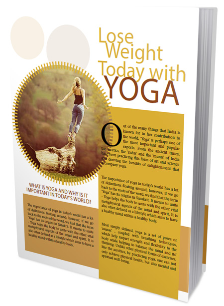 Lose Weight Today With Yoga Ebook's Ebook Image