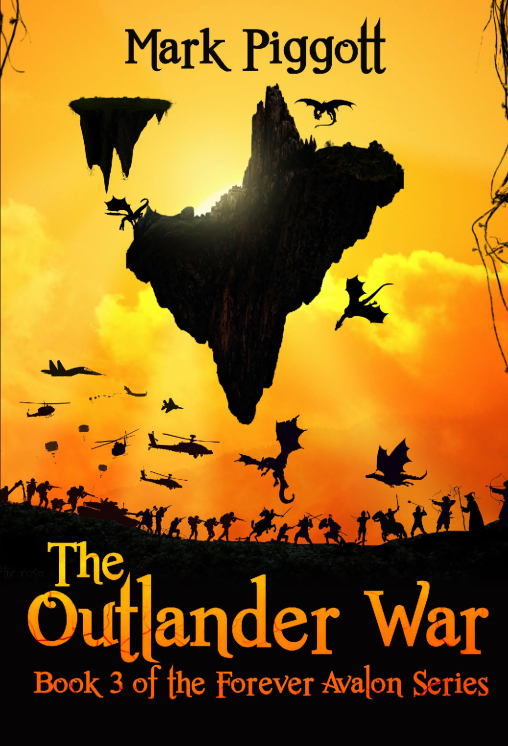 The Outlander War: Book 3 of the FOREVER AVALON Series's Book Image