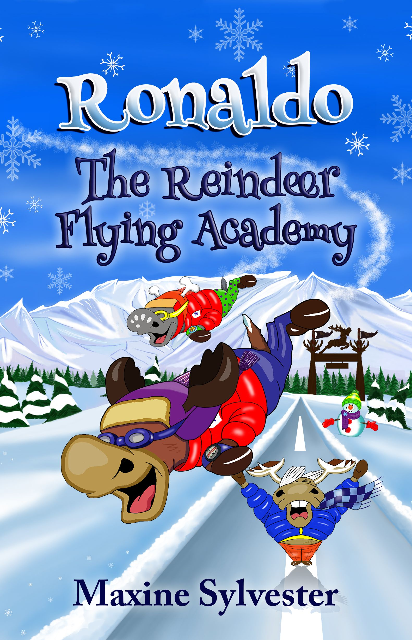 Ronaldo: The Reindeer Flying Academy - An Illustrated Early Readers Chapter Book for Kids 6-10's Ebook Image