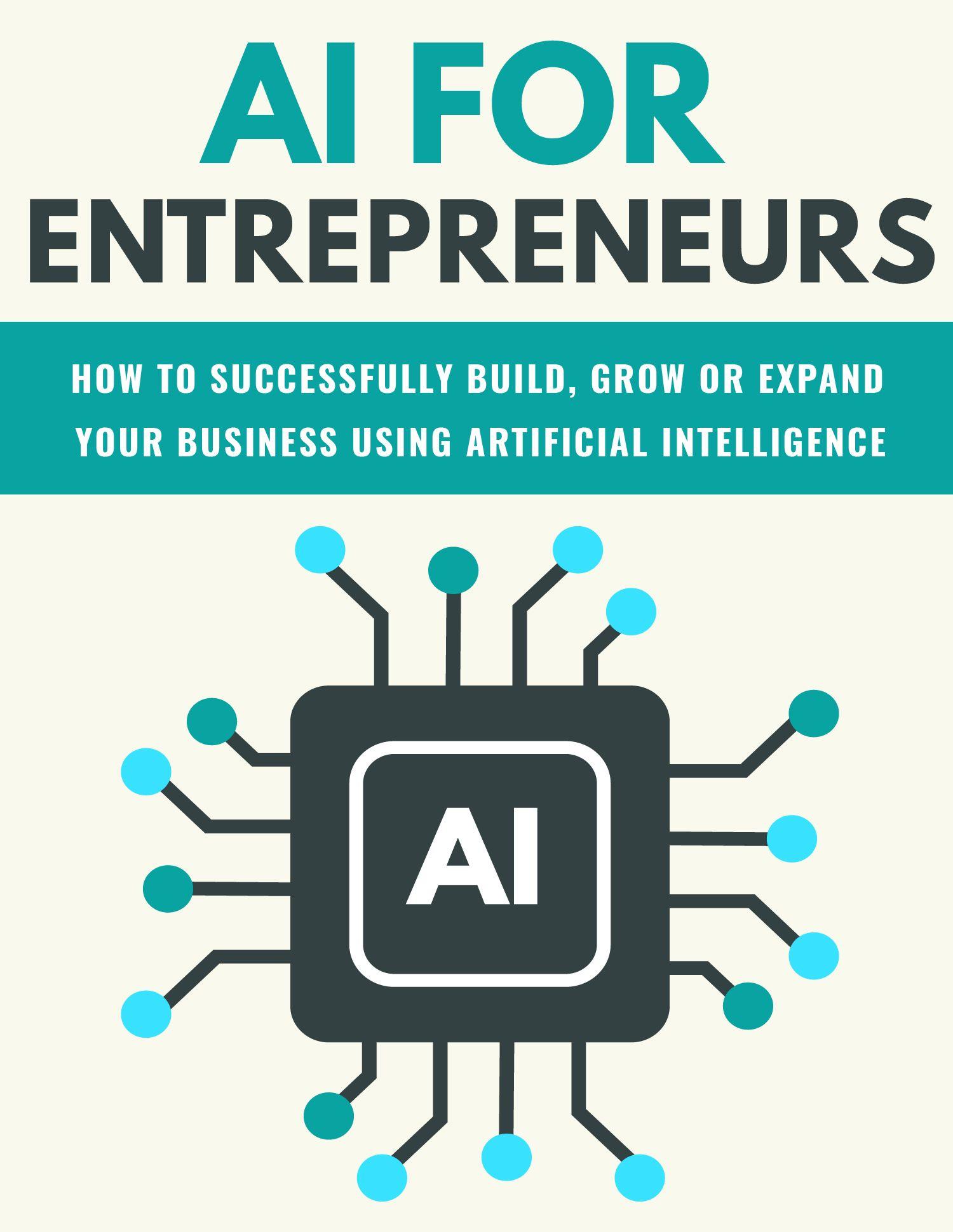 AI For Entrepreneurs eBook's Book Image